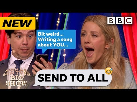 Ellie Goulding MORTIFIED in Send To All! 😂 | Michael McIntyre's Big Show - BBC