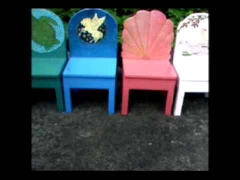 Hand Crafted Gardens Childrens Play Furniture Chairs