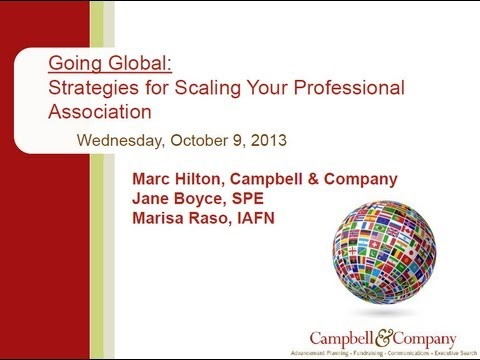 Going Global  Strategies for Scaling Your Professional Association