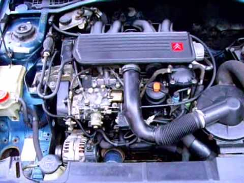 citroen zx 1 9 diesel cold start wmv youtube rh youtube com