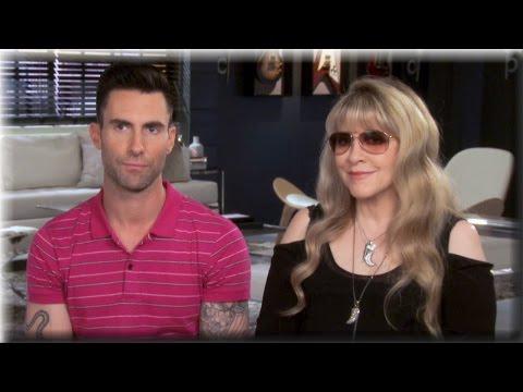 Adam Levine & Stevie Nicks - Teaming Up Again - The Voice Season 7