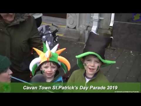 Cavan Town St Partick's Day Parade 2019