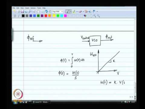 Mod-11 Lec-31 Phase locked loop basics