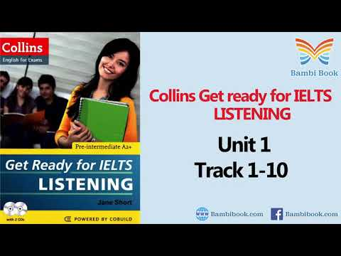 Collins Get ready for IELTS Listening Unit 1 Track 1 10