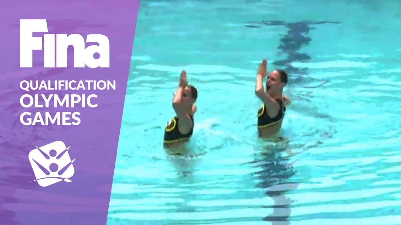 Re-Live: Duet Technical - FINA Synchronised Swimming Olympic Games Qualification - Rio de Janeiro