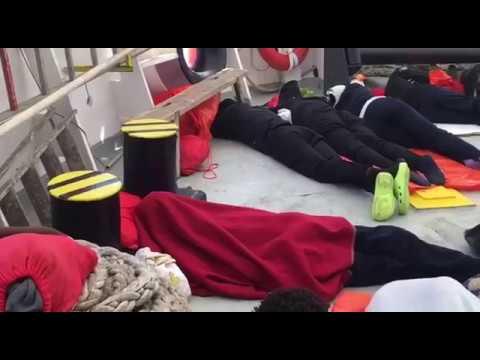 La vida a bordo del Aquarius captada por Médicos Sin Fronteras