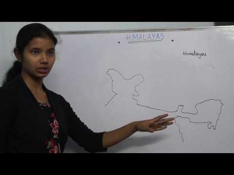 Indian Geography in Telugu- Himalayas