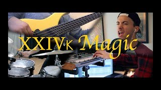 Download Bruno Mars - 24k Magic (Full Band Cover) MP3 song and Music Video