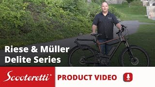 Riese and Muller Delite Review (2018) - Scooteretti Electric Bike Canada & USA