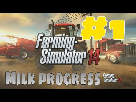 Farming Simulator 2014 - Milk progress!!