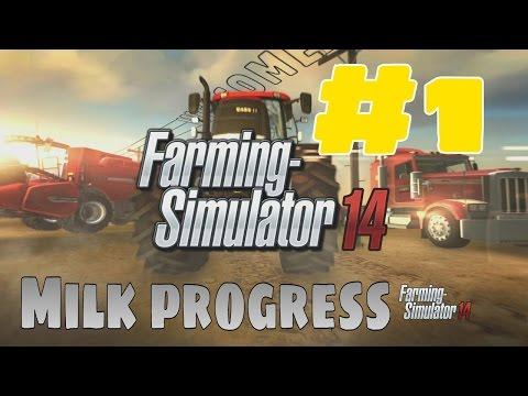 Farming Simulator 2014 - Milk progress!!