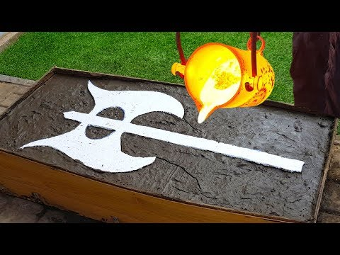 EXPERIMENT: BATTLE AXE from LAVA