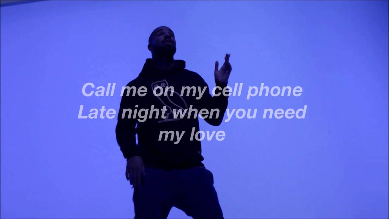 Download Drake - Hotling Bling Lyric Video