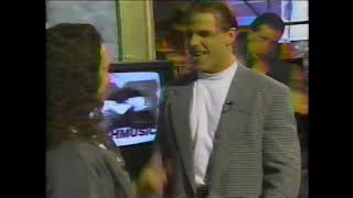 Shawn Michaels HBK on Much Music w Bill Welychka, Canada, March 1996 - Pre Wrestlemania 12
