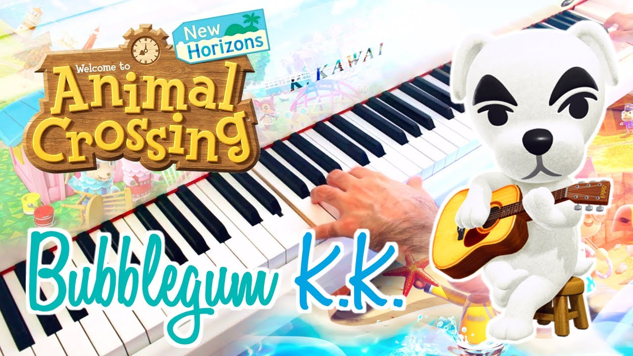 Bubblegum K K Animal Crossing New Horizons Piano