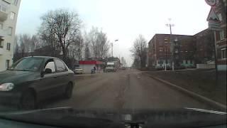 г Агрыз.машина скатилась с Эвакуатора