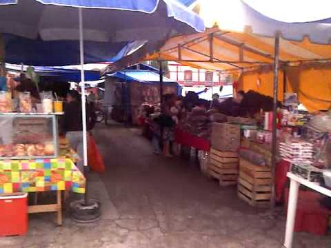 Un dia de plaza en la ciudad de tlaxiaco oax.