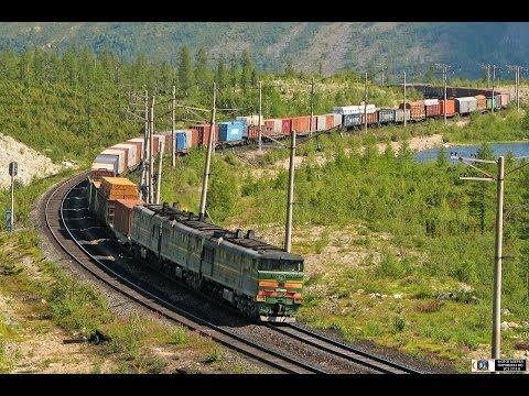 """БАМ-2007"". Часть 4 / ""BAM-2007"" Part 4. Railway Travel (RZD, Chara, Mururin)"