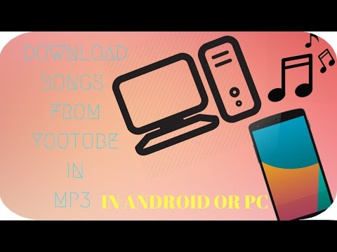 how to download songs from youtube in mp3 without any software
