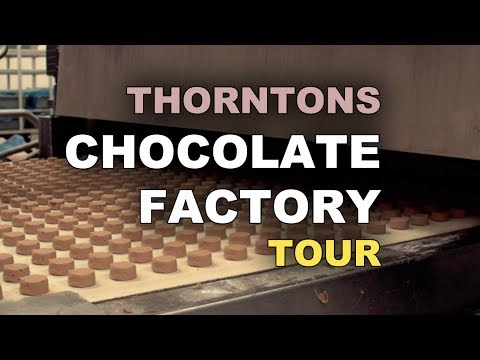 Thorntons Chocolate Factory Tour