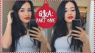 Q&A: 2017 Travel Plans, Advice on Starting YouTube, & Plastic Surgery?! | Vlogmas Day 1