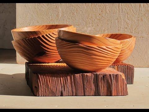 Tournages artistiques du bois: quelques techniques
