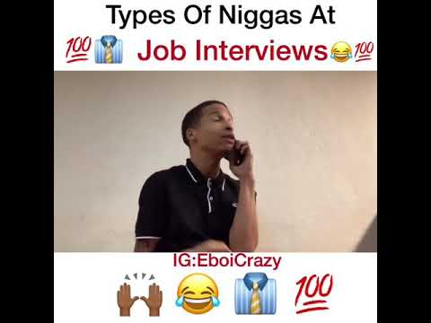 Types Of Men At Job Interviews