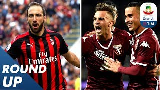 Higuain's Brace & Torino's Incredible Victory! | Round Up 8 | Serie A