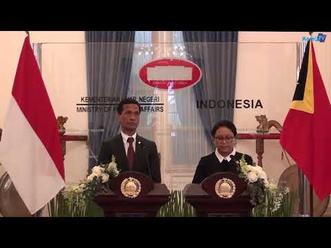 Kunjungan  Menlu Timor-Leste,  Prof. Dr. Aurelio Sergio Guterres ke Jakarta
