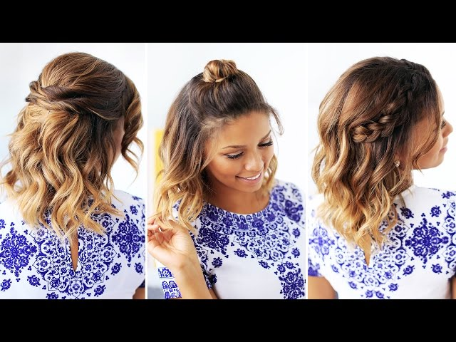 11 Easy One Step Hairstyles For Short Hair That Will Change Your ...