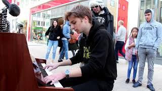 Download lagu I played RENAI CIRCULATION on piano in public