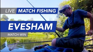Live Match Fishing: River Avon, Evesham, Match Win
