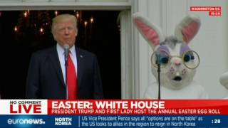Easter at the White House, first for Donald Trump