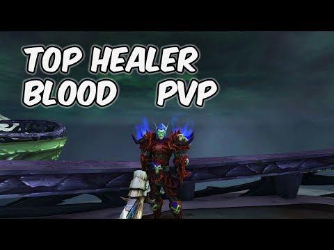 Top Healer - 8.1 Blood Death Knight PvP - WoW BFA