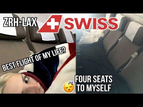 TRIP REPORT: Zürich to Los Angeles LX40 | Swiss International Air Lines | Economy | Boeing 777-300ER