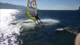 Windsurf: Pra de la fam (Garda Lake) - 2th Nov 2014 - Peler at 25-30 knots