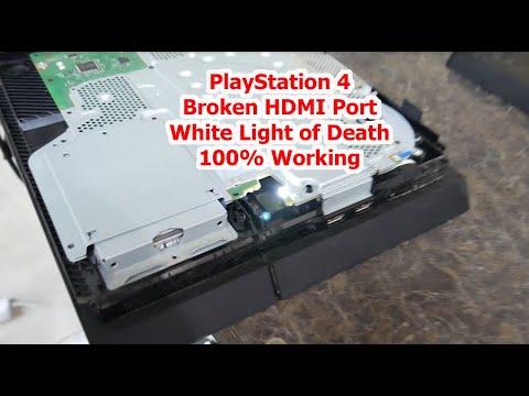 PS4 HDMI Port Repair - White Light of Death Fix - No Signal 100% Fix
