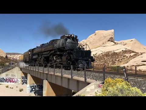 Big Boy 4014 Steam Locomotive - Cajon Pass - Where to See Trains in California