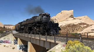 Big Boy 4014 Steam Locomotive - Cajon Pass - Where to See Trains in California