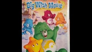 Opening To The Care Bears:Big Wish Movie 2005 DVD
