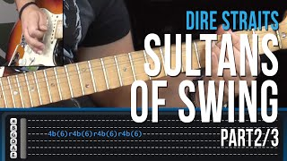 Dire Straits - Sultans Of Swing - Part 2/3 - Como Tocar - How to Play