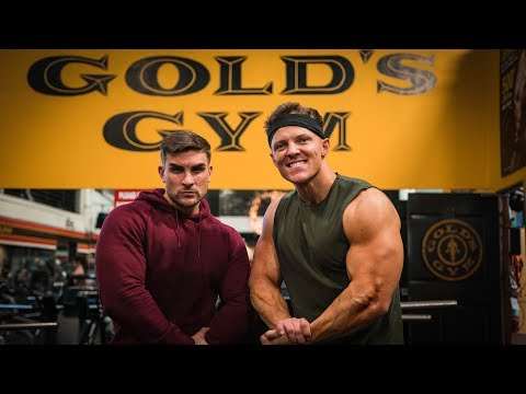 No Girl is Safe At Gold's Gym! | Training Arms with Ryan Terry