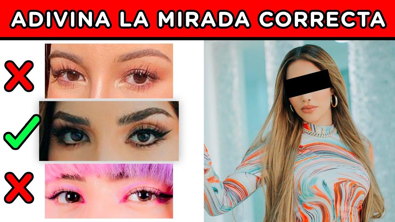 ADIVINA LA MIRADA DEL YOUTUBER CORRECTA | PON A PRUEBA TU MENTE CON ESTE RETO | YOU OCIO