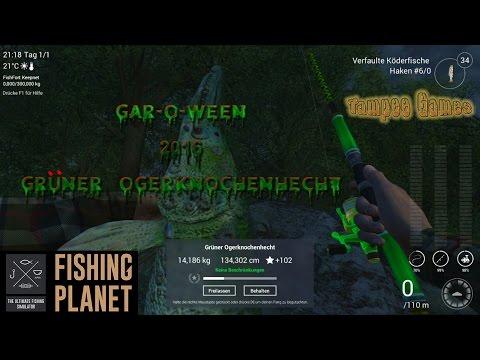 Fishing Planet Halloween 2016 | Gar-o-Ween | Grüner Ogerknochenhecht North Carolina |