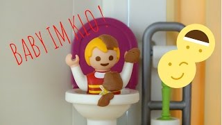 Playmobil film deutsch -  BABY IM KLO ! / Bekommen Lukas und Sophia riesen Ärger ?