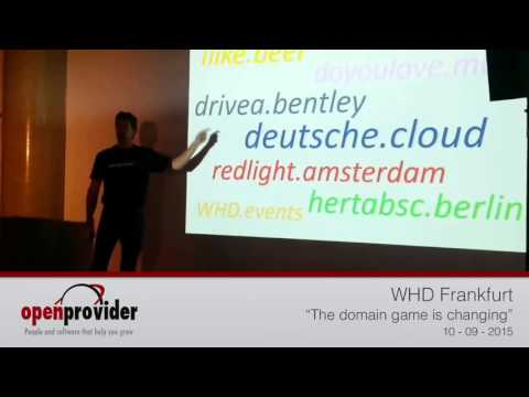 Presentation WHD Frankfurt | Openprovider