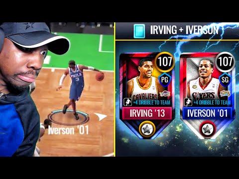 JULY MASTERS W/SICK DRIBBLE MOVES! (Irving + Iverson) NBA Live Mobile 20 Season 4 Ep. 72
