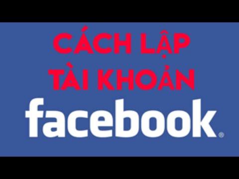 Cách tạo lập nick (tài khoản) facebook mới trên điện thoại