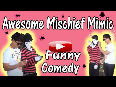 Mystic Mime Artist Manila Philippines Mischief Mimics at the Luneta FUNNY COMEDY!