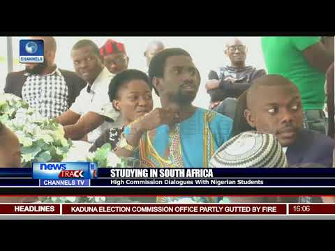 High Commission Meets With Nigerian Students In South Africa